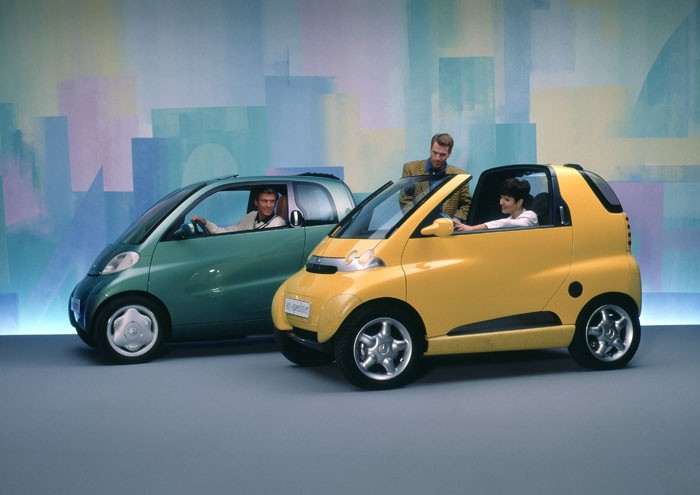 Architecture branding mercedes benz gets wise with for Mercedes benz small cars