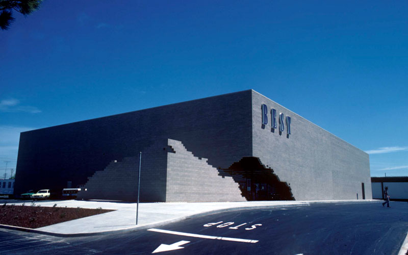 Architecture Branding The Utilitarian Box Store And