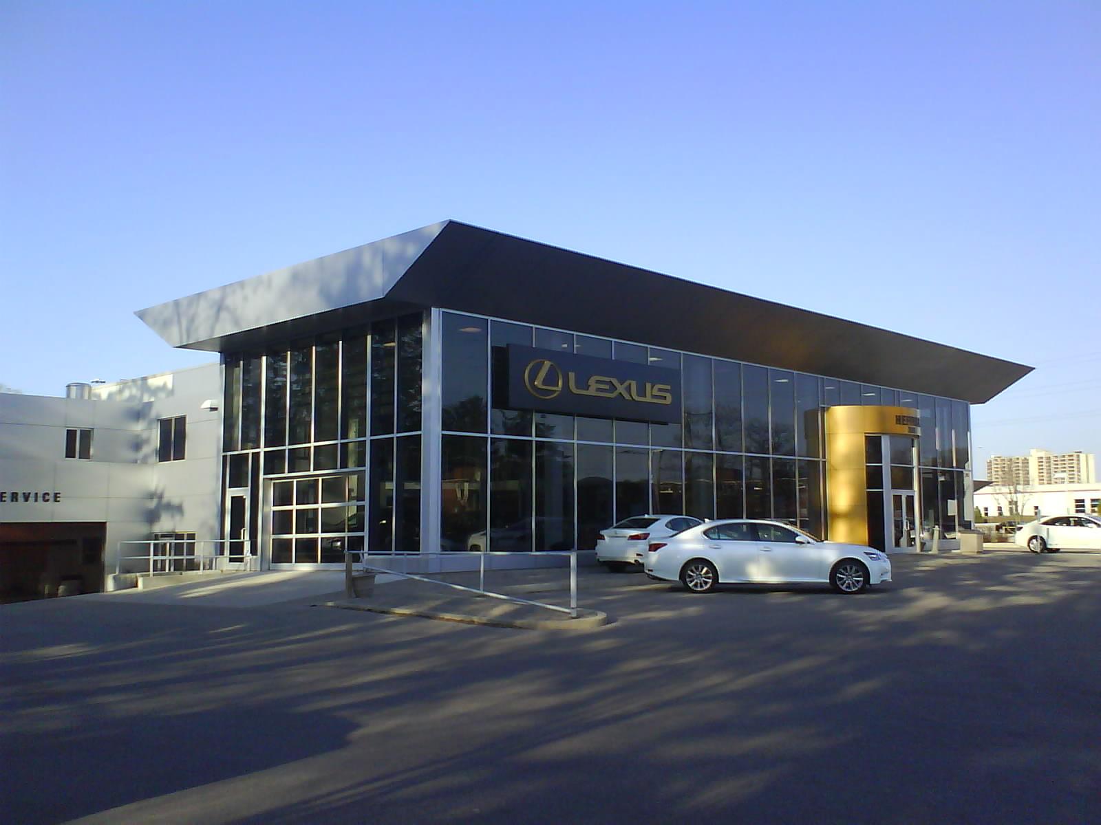 Architecture Branding Lexus pursues to perfect the premium