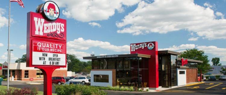 Wendys New restaurant design