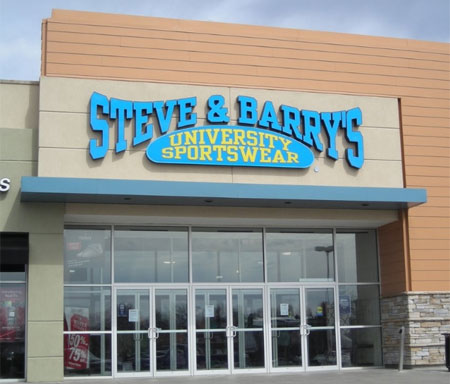 SB_Steve and Barrys modern exterior storefront