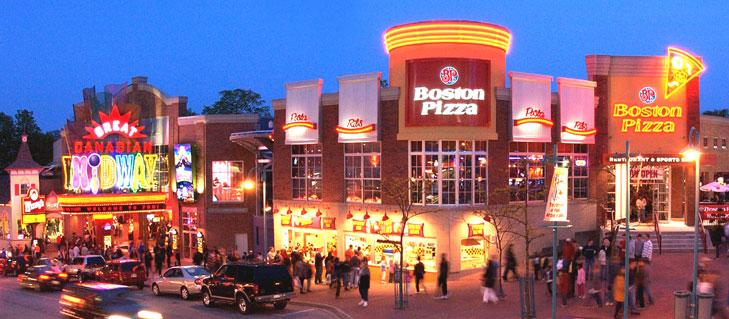 Boston Pizza Boston Pizza 4948 Clifton Hill Niagara Falls ON