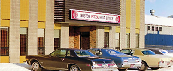 Boston Pizza Boston Pizza Head Office circa 1973