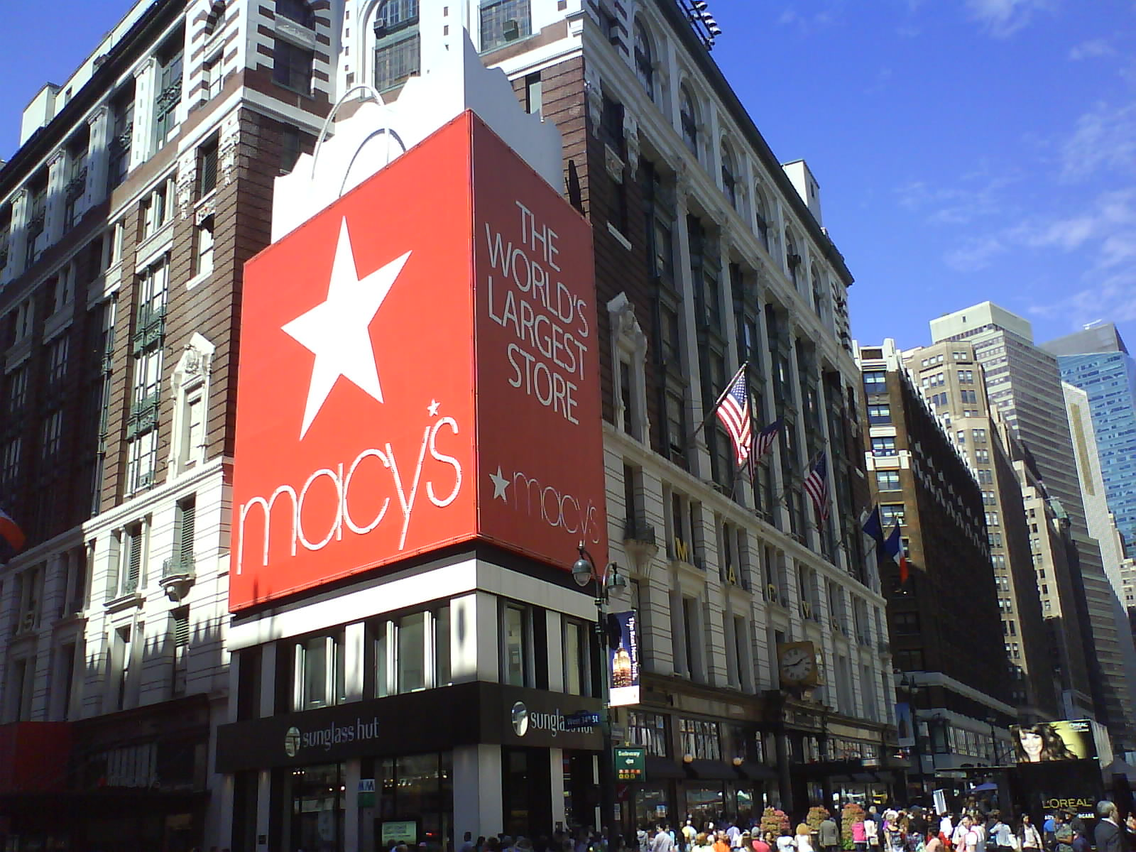 0b0a99071e5 DSC11727 - VS Macys 6th Avenue and West 34th Street NYC NY. Macy s  Department store ...