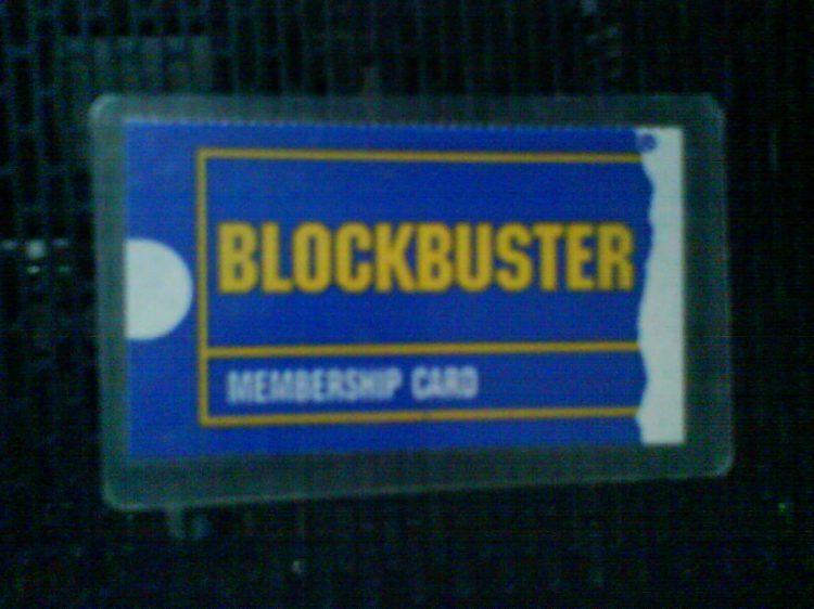 DSC12298 - Blockbuster Membership Card