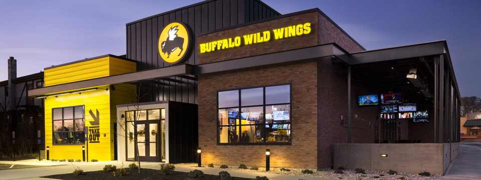 Architecture branding buffalo wild wings emerges from