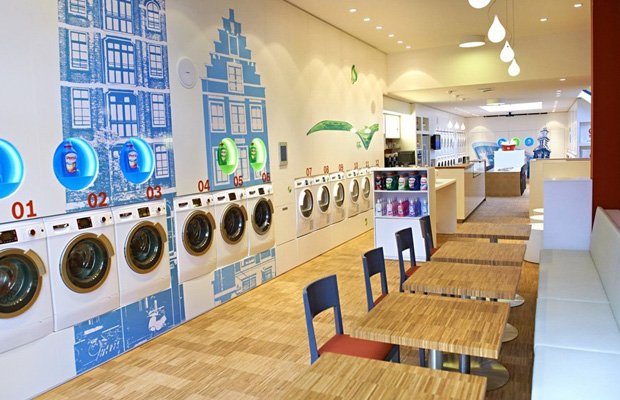 Laundromats - Wash and Coffee Munich Germany