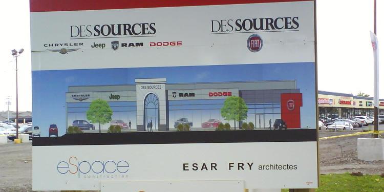DSC06510 Fiat NB Chrysler-Jeep-RAM-Dodge-Fiat Dealership Boul des Sources DDO QC