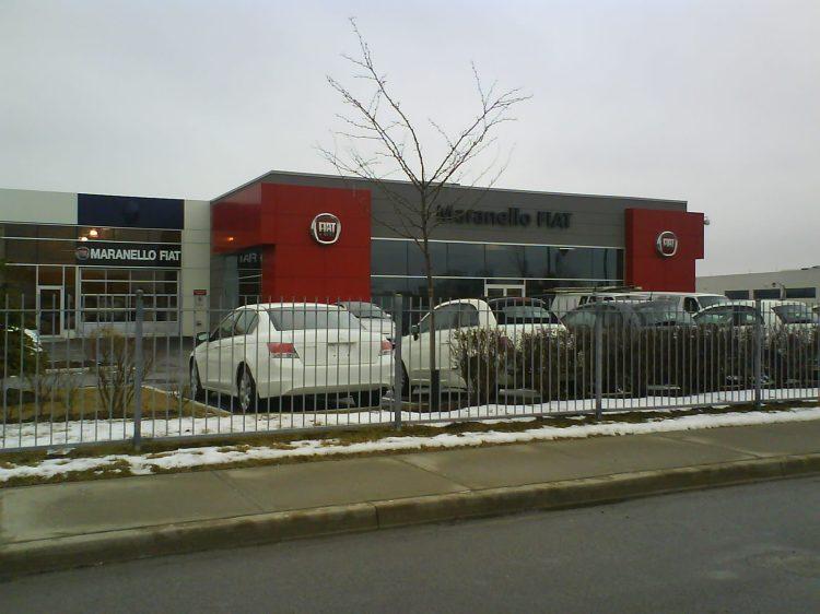 DSC07946 Fiat Fiat Dealership Auto Park Circle Vaughan ON