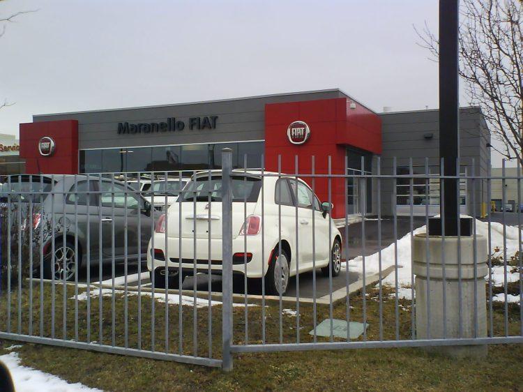 DSC07947 Fiat Fiat Dealership Auto Park Circle Vaughan ON
