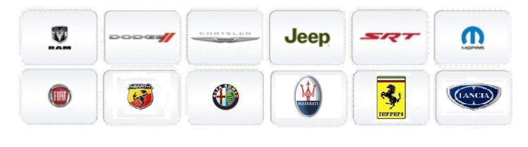 Fiat Chrysler Automobiles FCA brands
