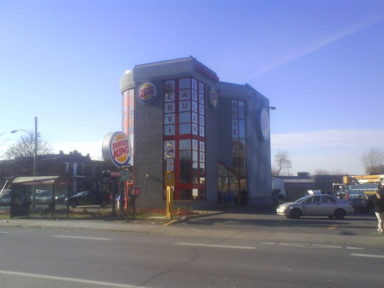 DSC10289 - BK - Burger King Rue Cremazie Est and Boulevard St-Laurent Montreal QC