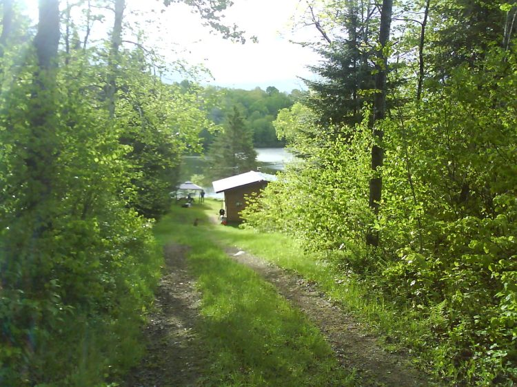 DSC01177 Outdoor Store Cottage on Lac Noir near Chemin des Faucons Nominingue QC