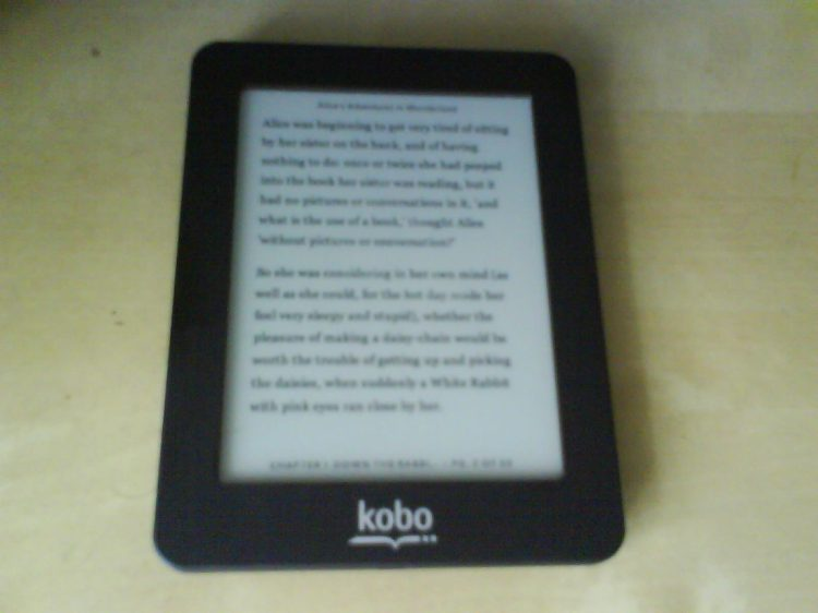 DSC13750 Borders - Mini Kobo reader