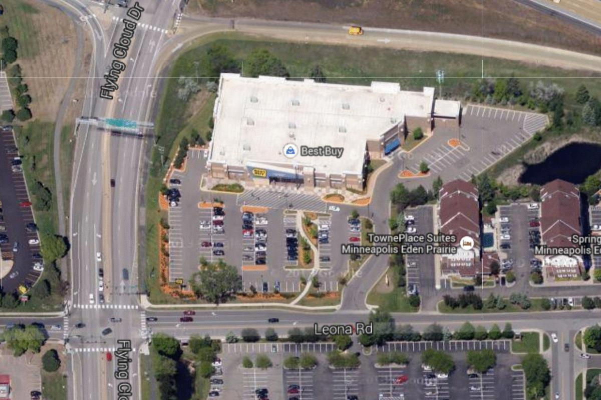 Architecture Branding Best Buy Shortcircuits The Urge To Take - Best aerial maps