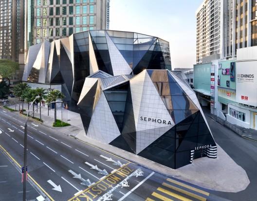 Sephora Sephora Starhill gallery Kuala Lumpur Malaysia Aerial 1