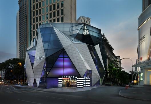 Sephora Sephora Starhill gallery Kuala Lumpur Malaysia Facade