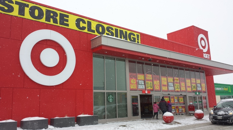 20150221_110701 TGT - Target Store 1055 St-Laurent Blvd Ottawa ON CA Store Closing 2015