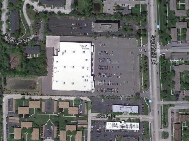 Target 30333 Southfield Road Southfield MI 1 Aerial https___maps.google