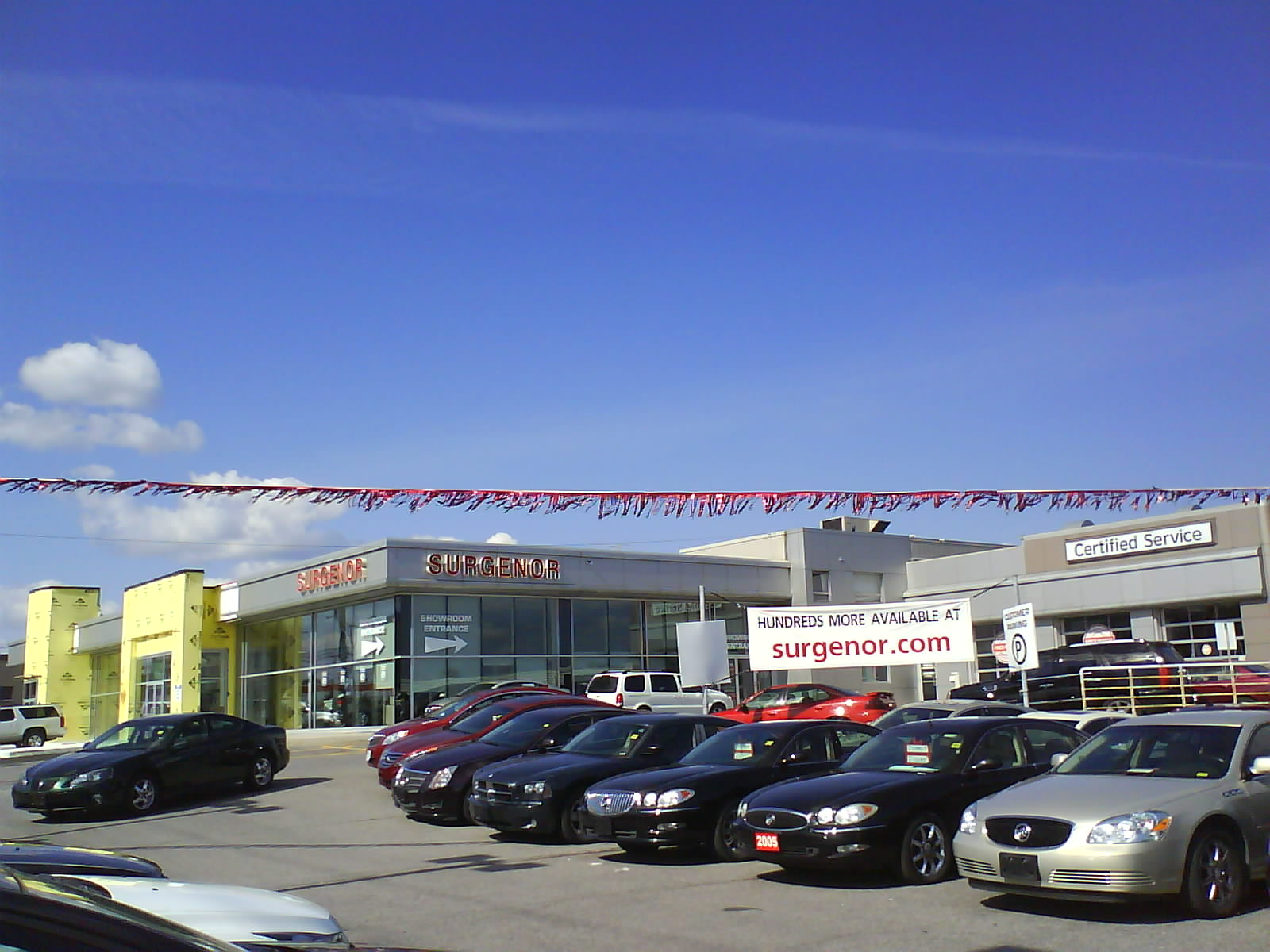 pontiac ca in the san dealer buick photo entrance gmc closed at stock dealership to jose a sign