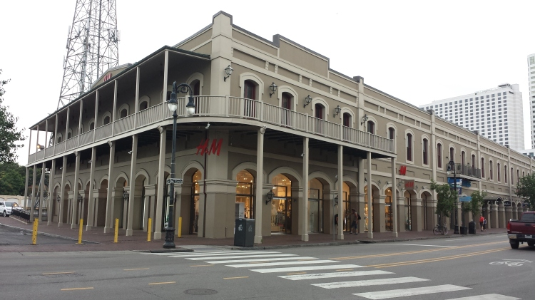 20150525_074917 - GAP - H&M 418 N Peters Street New Orleans LA
