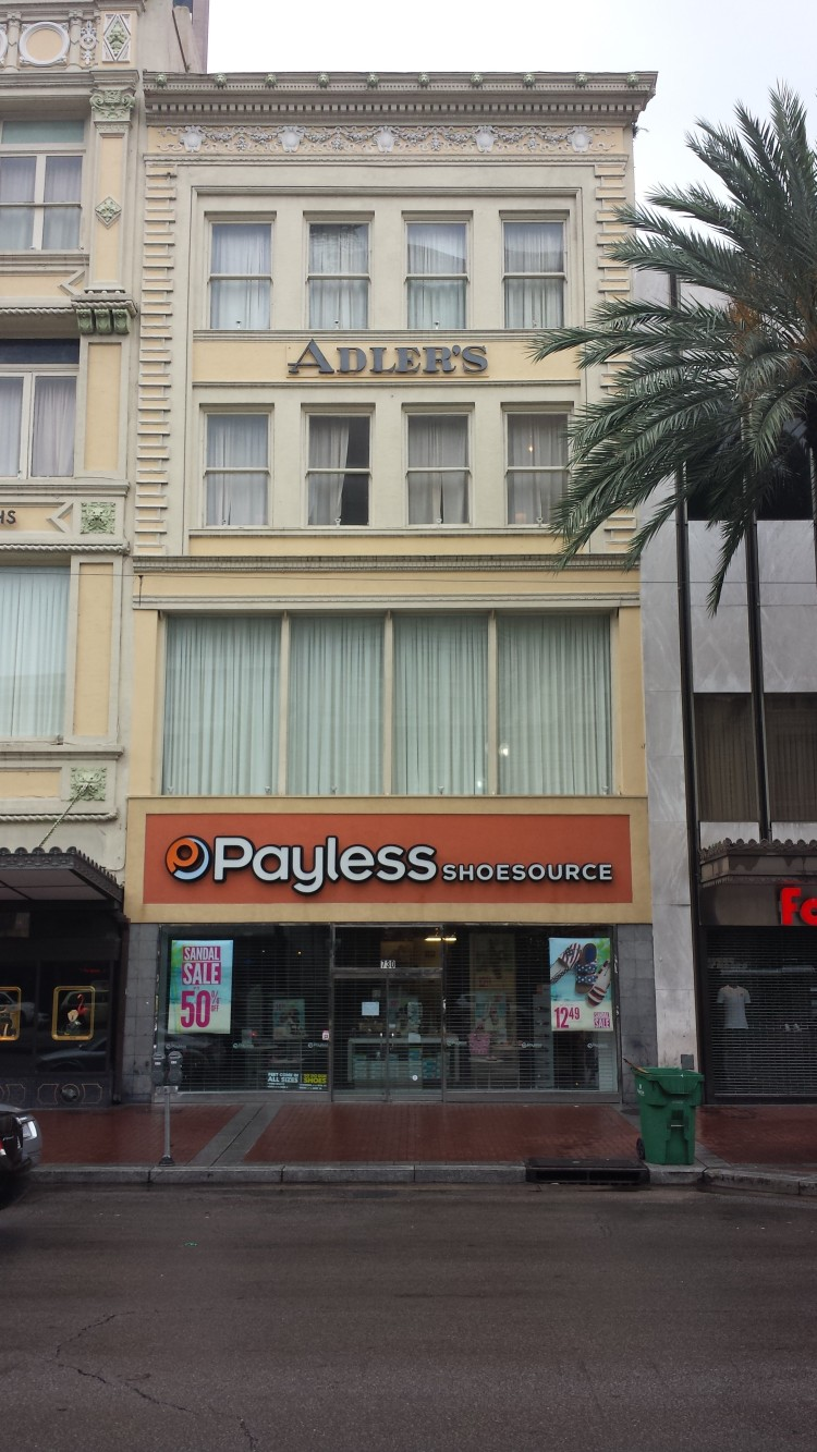 20150526_072636 PSS Payless US-LA-New Orleans 730 Canal Street