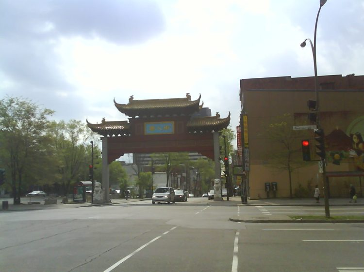 DSC04496 - PRG Chinese gate Boul Rene-Levesque and Rue St-Laurent Montreal QC