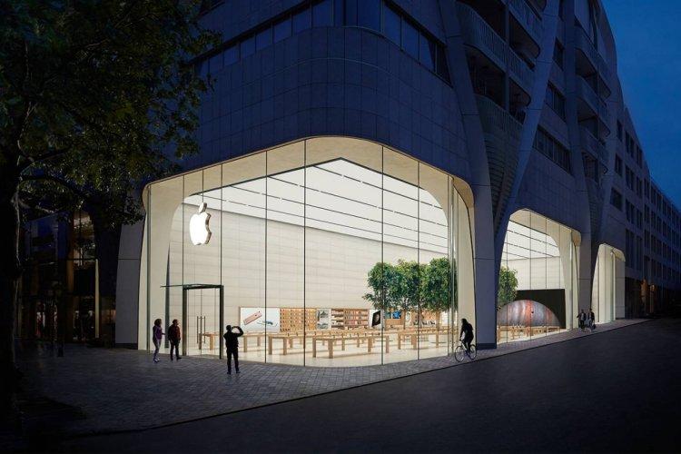 AAPL Apple Store BEL Brussels 26-28 Avenue de la Toison d'Or Outside