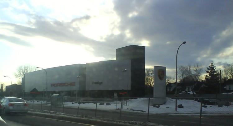 DSC07731 POR_Porsche dealership 3535 Chemin Cote de Liesse Montreal QC