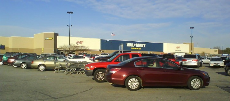 DSC07634 WMT Walmart US-NC-Smithfield 1299 N Brightleaf Boulevard